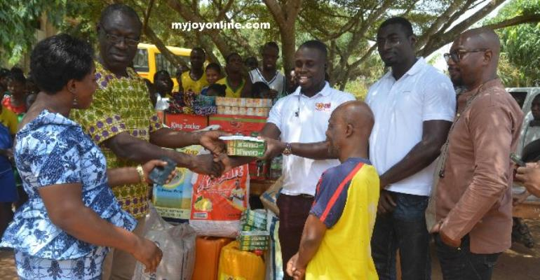 Kumasi Orphanage Homes Benefit From Luv FM Prayerline