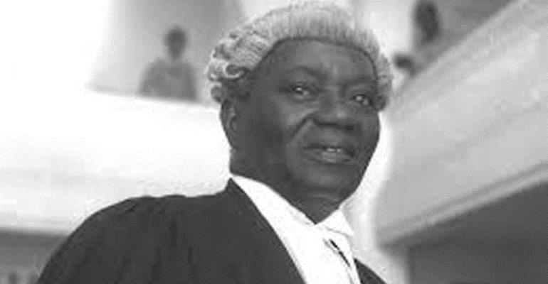 Remembering J. B. Danquah's Warning Against The Corruption Canker