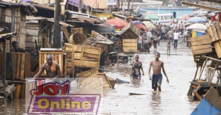 Accra Rains Again! Key Areas In The City Flooded