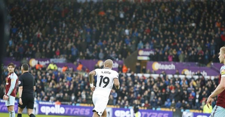 Andre Ayew Delight With Winning Return To Swansea City