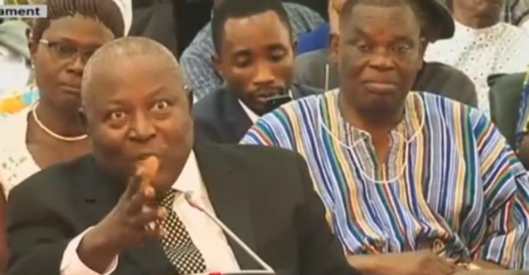 I'm The Best Man For The Job--Amidu Justitifies His Post