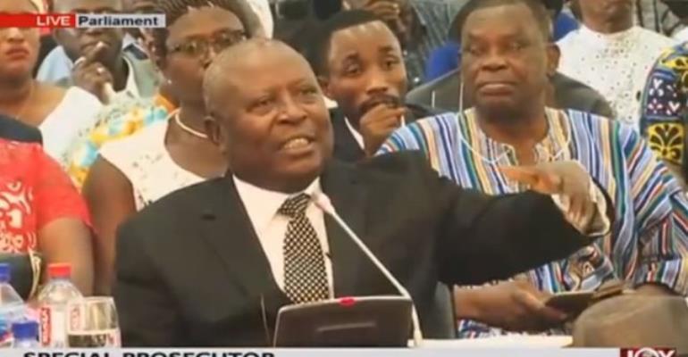 I Don't Need Anti-Corruption Awards--Amidu
