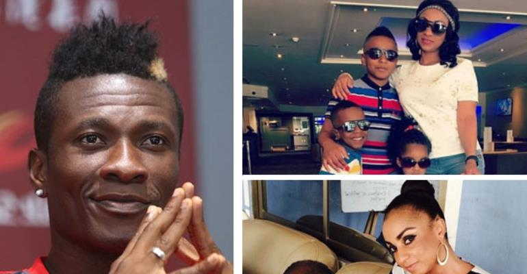Asamoah Gyan Is Biological Father Of His Three Kids —Paternity Test