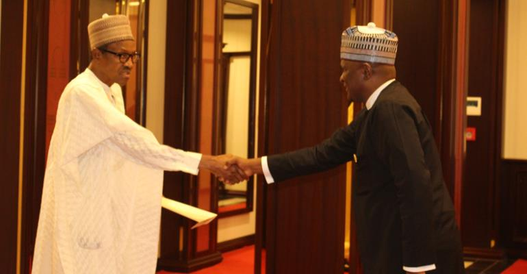 Ghana's High Commissioner To Nigeria Meets Buhari