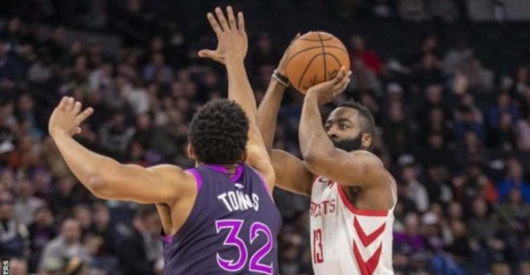 NBA: Harden Matches Chamberlain's 57-Year-Old Scoring Record
