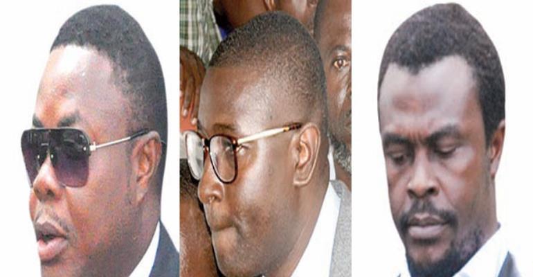 Godwin Ako Gunn, Salifu Maase aka Mugabe and Alistair Nelson- Montie 3