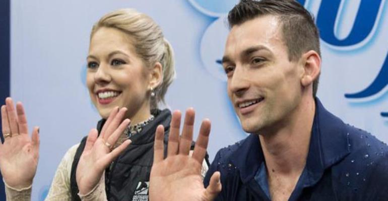 Pyeongchang Winter Olympics pairs skaters from the US