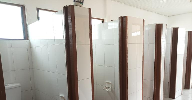 11-seater state-of-the-art toilet facility