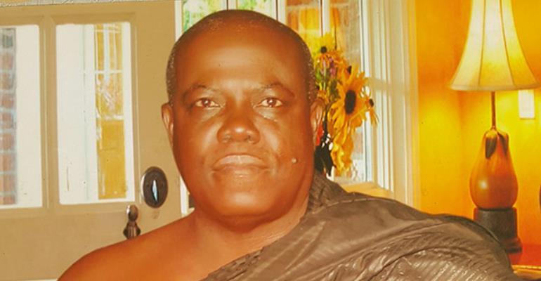 Nana Owusu Achiaw Brempong, the Agona Akrofronso Chief