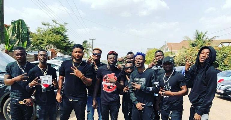 Shatta Wale And Friends Hold Prayer Meeting On Val's Day