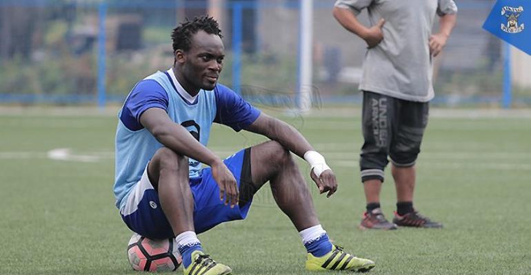 Ghana Midfielder Michael Essien Pops Up D.C United Radar