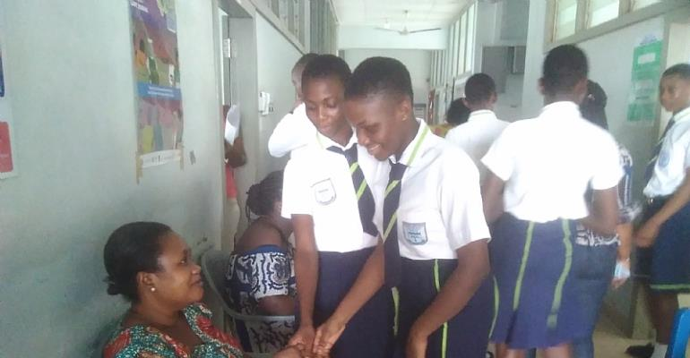 Child Health Unit Of Korle Bu Gets Support From Oddarene Christian School