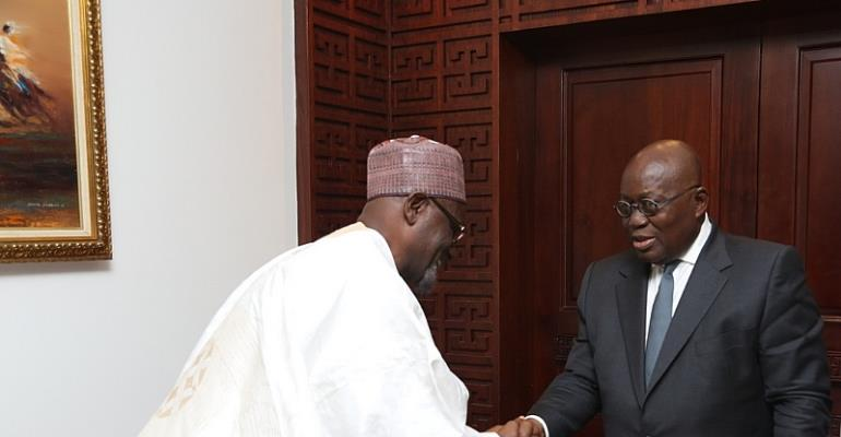 Pray for our success – Akufo-Addo to Ahmadyyia mission
