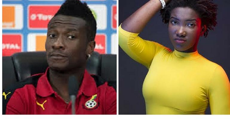 Asamoah Gyan 'Surprises' Ebony's Family With Donation At Her One Week Memorial