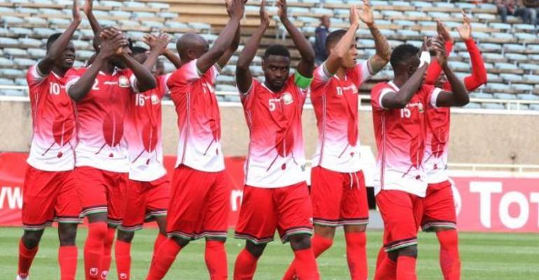 2019 AFCON: Kenya Name Squad For Ghana Clash Next Month