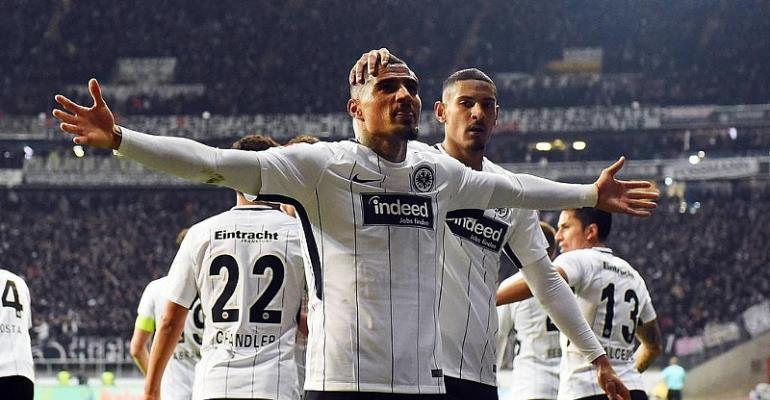 Boateng shines as Frankfurt edge past Leipzig