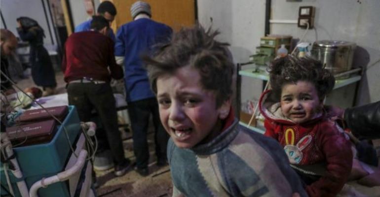 Bomb Strikes In Syria's Ghouta Killed Hundreds