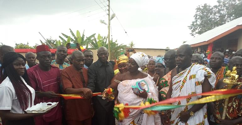 Newly Created Achiase District Inaugurated