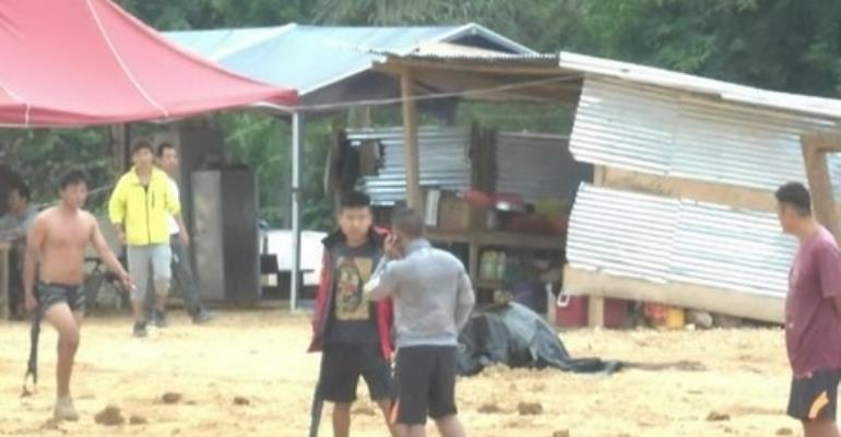 Community members arrested for resisting illegal Chinese miners