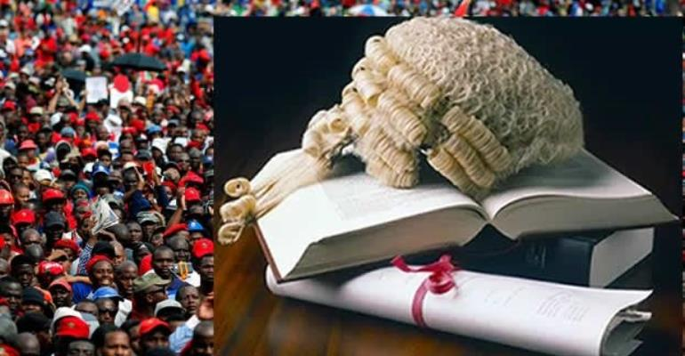 'Red Day' At The Ghana School Of Law