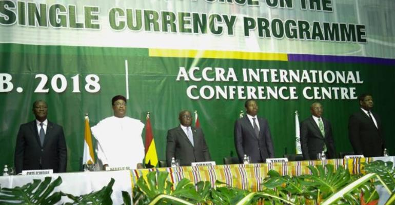 West African Countries Commit To Single Currency By 2020 At ECOWAS Meeting