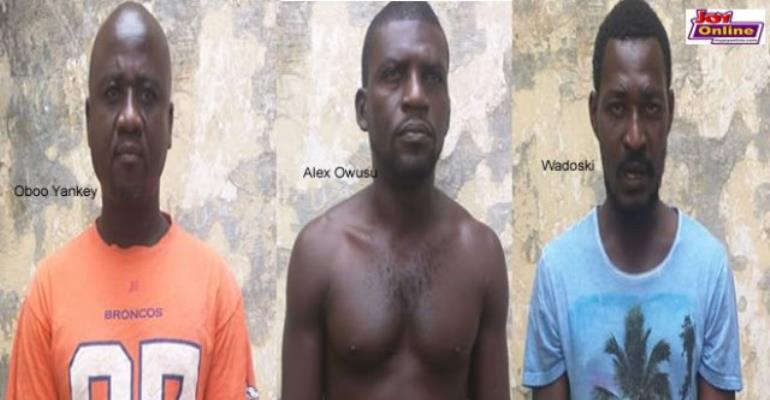 NPP Thieves Charged With Robbery; Two Others On The Run