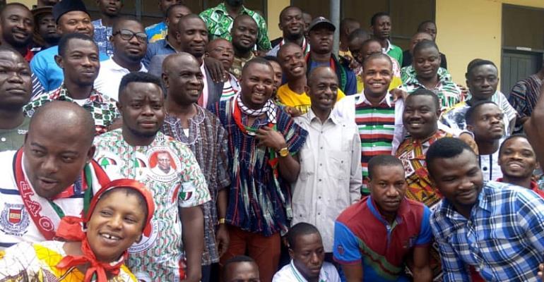NDC Decides: B/A NDC Youths Endorse John Mahama For 2020