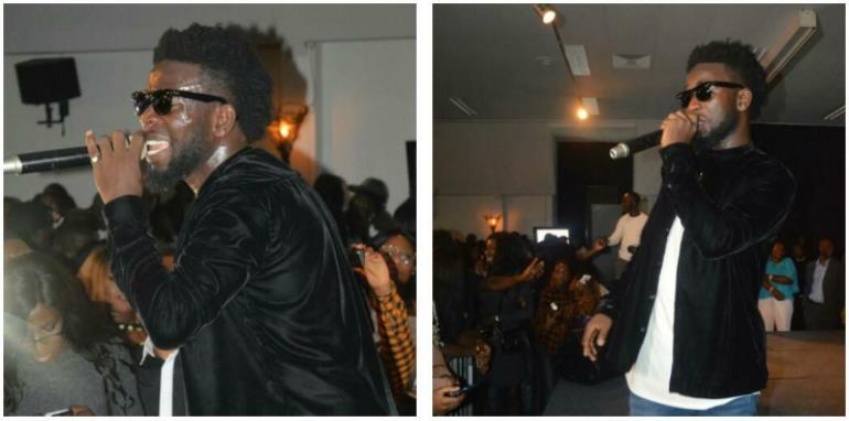 Bisa Kdei Performs Live In Amsterdam