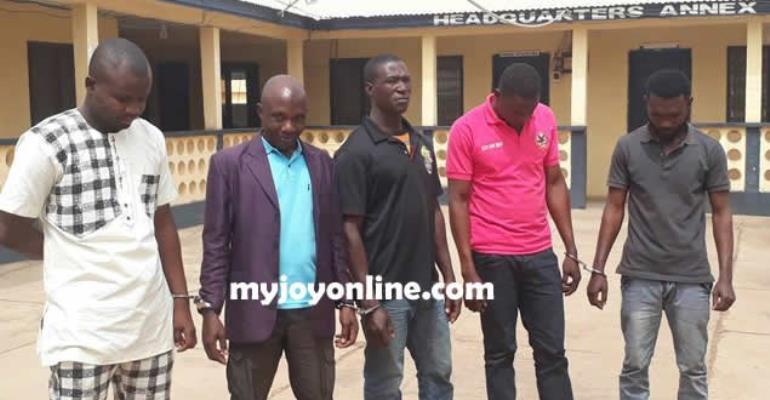 NPP Hoodlums Remanded In Upper West