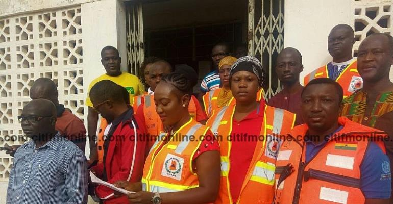 NADMO Staff Call Off Strike Following The Suspension Of Upper West Minister