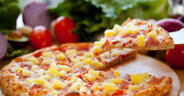 Pizza for breakfast is healthier than having cereal