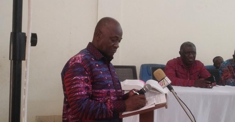Commission For New Regions Meets Media In Brong Ahafo