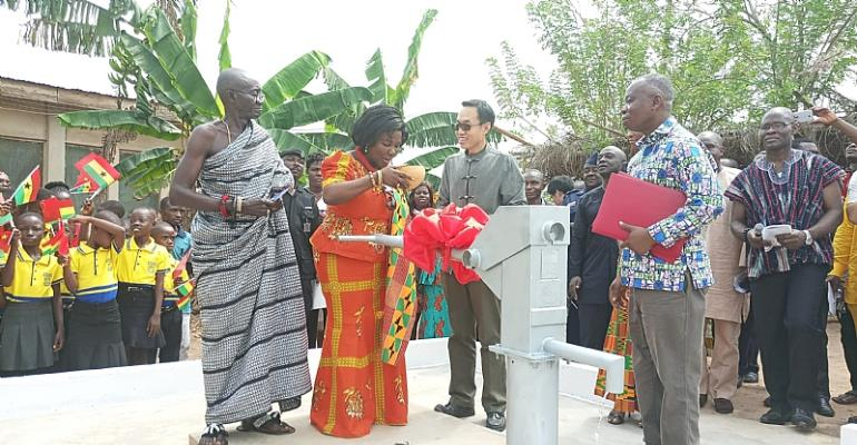 1029 Chinese Boreholes Commissioned