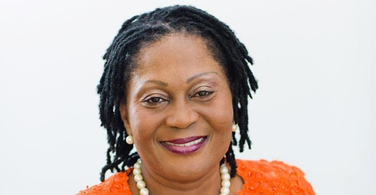 Former First Lady, Lordina Mahama