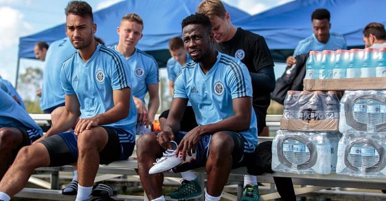 Ebenezer Ofori Eyes Laurels With New York City FC'