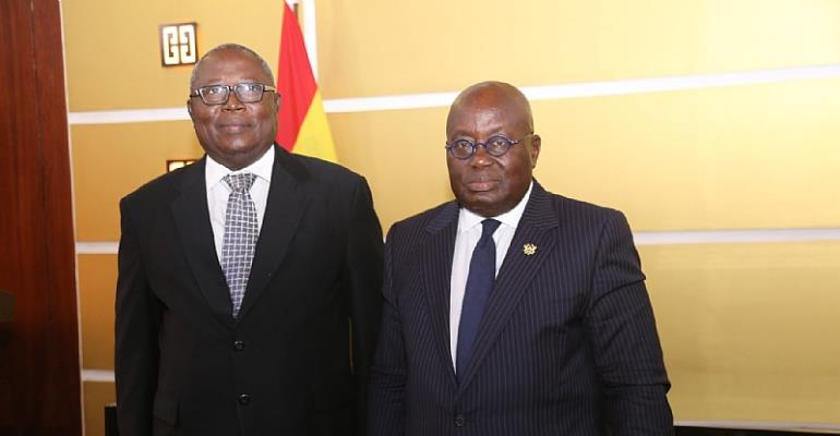There Will Be No Interference In Your Work--Akufo-Addo Tells Special Prosecutor