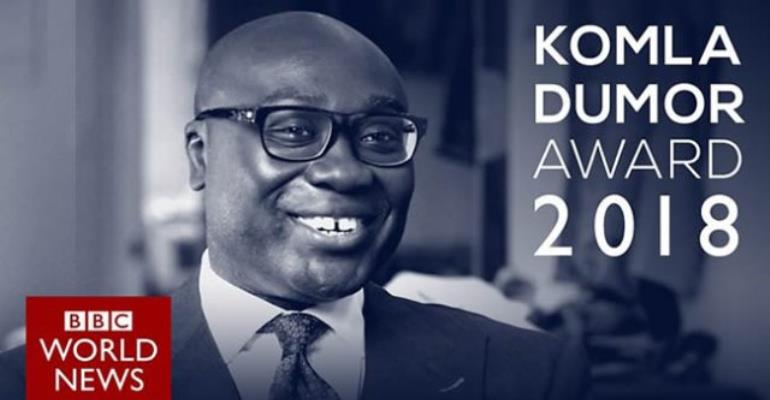 2018 Komla Dumor Award Launched