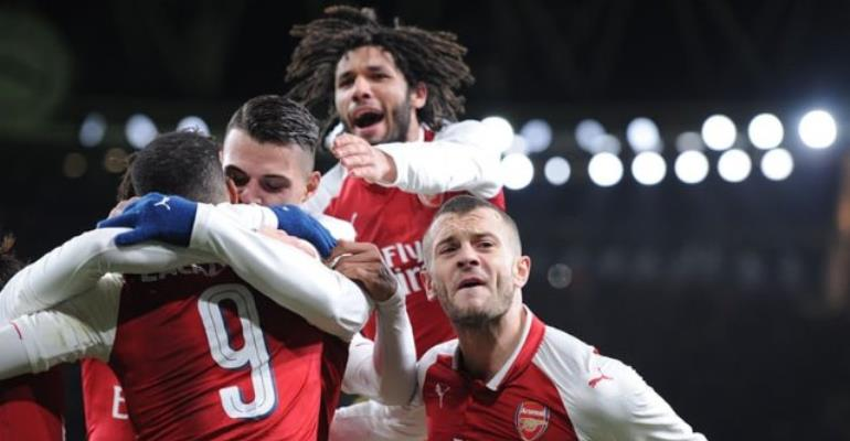 Europa League: Arsenal To Play AC Milan In Last 16