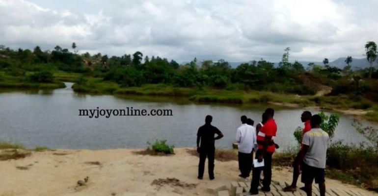Final Year SHS Student Swallowed By Galamsey Pit
