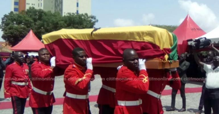News In Photos: State Funeral For Prof. Allotey