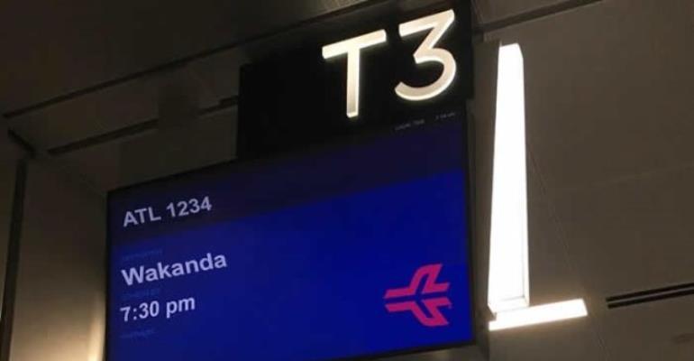 Atlanta Airport Offers Flights To 'Wakanda'