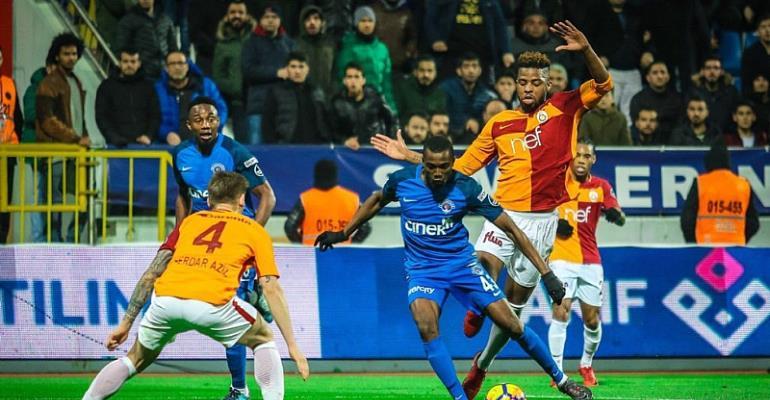 In-Form Bernard Mensah's Kasimpasa Takes On Asamoah Gyan's Kayserispor In Turkish League
