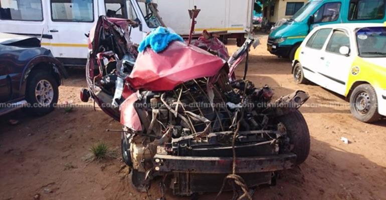 Airport-Madina Road Crash Kills One