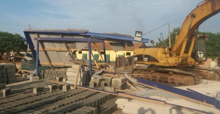 Demolition In Nungua Rendered Hundreds Homeless
