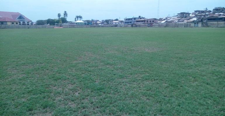 Tarkwa And Aboso Pitch Undergoes Re-Grassing Ahead Of Medeama's New Season
