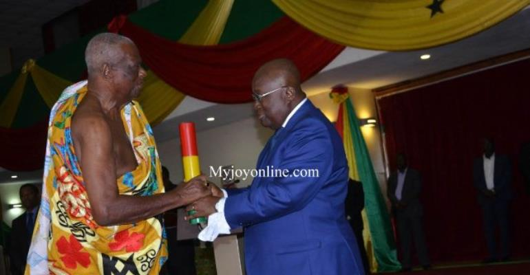 Council of State elects Juabenhene Nana Otuo Siriboe II as Chairman