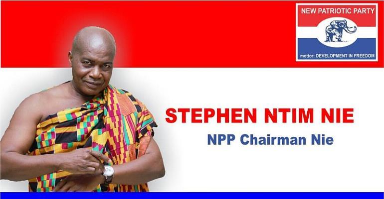 NPP Race: Chairman Butey Endorses Stephen Ntim For NPP National Chair