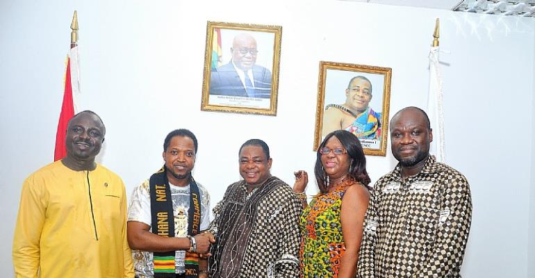 GCC USA Visits Headquarters Of The Ghana National Chamber of Commerce & Industry