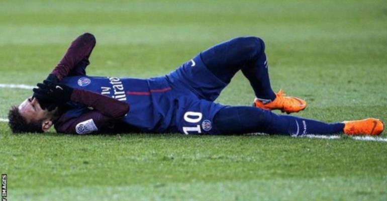 Champions League: Neymar out of Real Madrid clash after suffering broken metatarsal