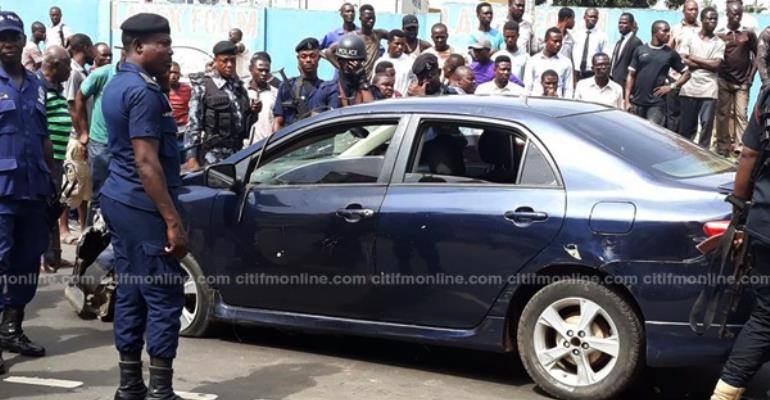 North Kaneshie: Two Injured In Suspected Robbery